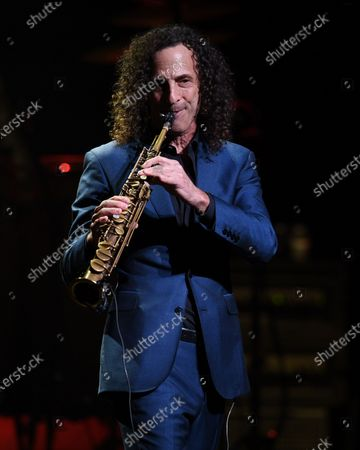 Editorial image of Kenny G in concert, The Kravis Center for the Performing Arts , West Palm Beach, Florida, USA - 10 Mar 2020
