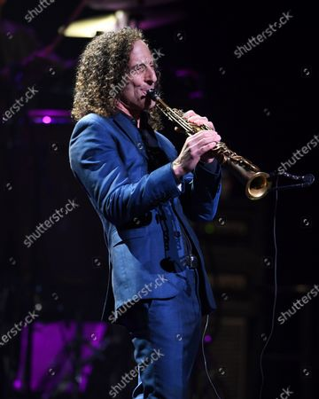 Editorial picture of Kenny G in concert, The Kravis Center for the Performing Arts , West Palm Beach, Florida, USA - 10 Mar 2020