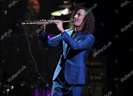 Editorial photo of Kenny G in concert, The Kravis Center for the Performing Arts , West Palm Beach, Florida, USA - 10 Mar 2020