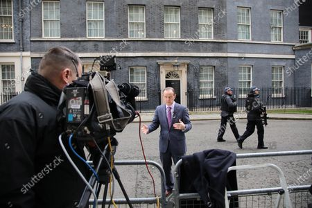 Editorial photo of Politicians in Westminster, London, UK - 11 Mar 2020