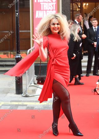 British singer Tallia Storm arrives at the Prince's Trust awards held at the London Palladium London, Britain, 11 March 2020.