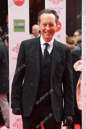 British actor Richard E. Grant arrives at the Prince's Trust awards held at the London Palladium London, Britain, 11 March 2020.