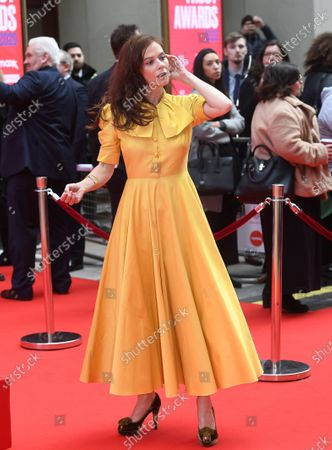 British actress Anna Friel arrives at the Prince's Trust awards held at the London Palladium London, Britain, 11 March 2020.