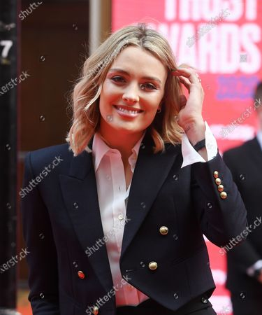 British actress Wallis Day arrives at the Prince's Trust awards held at the London Palladium London, Britain, 11 March 2020.