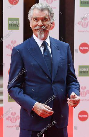 US-Irish actor Pierce Brosnan arrives at the Prince's Trust awards held at the London Palladium London, Britain, 11 March 2020.