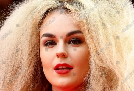 Stock Photo of British singer Tallia Storm arrives at the Prince's Trust awards held at the London Palladium London, Britain, 11 March 2020.