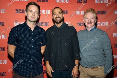 Patrick J. Adams, Jesse Williams and Jesse Tyler Ferguson