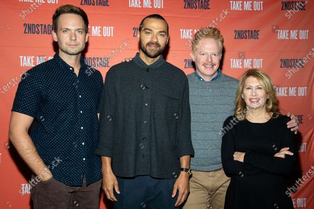 Patrick J. Adams, Jesse Williams, Jesse Tyler Ferguson and Carole Rothman