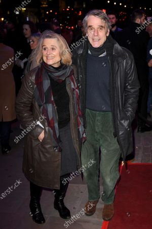 Sinead Cusack and Jeremy Irons