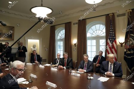 Editorial image of President Donald Trump meets with bankers in Washington, Usa - 11 Mar 2020
