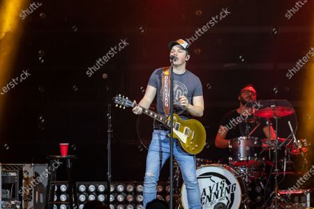 Stock Photo of Support act Travis Denning