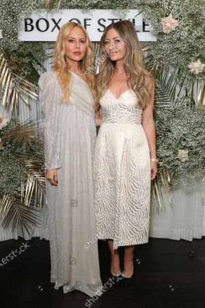 Stock Photo of EXCLUSIVE - Rachel Zoe and Rebecca Gayheart Dane