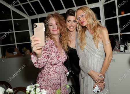 Stock Image of EXCLUSIVE - Kimberly Brook, Nikki Reed and Rachel Zoe