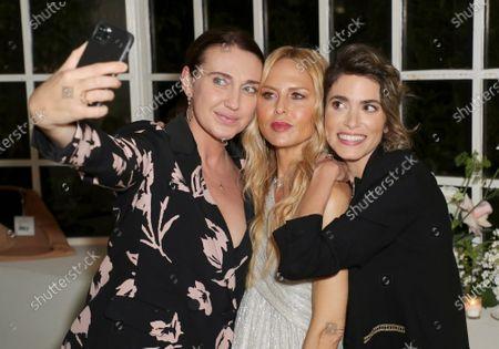 EXCLUSIVE - Anna Schafer, Rachel Zoe and Nikki Reed