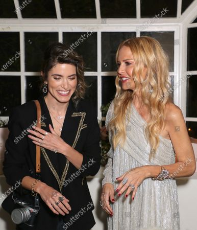 Stock Image of EXCLUSIVE - Nikki Reed and Rachel Zoe