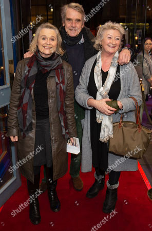 Sinead Cusack, Jeremy Irons and Sorcha Cusack
