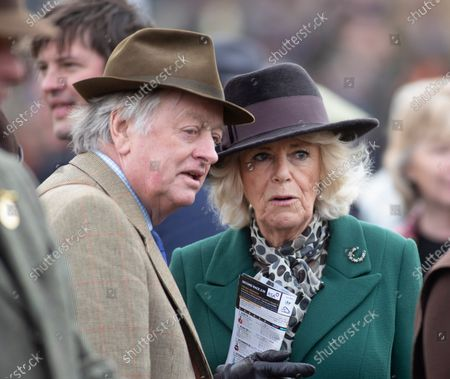 Camilla Duchess of Cornwall and Andrew Parker Bowles