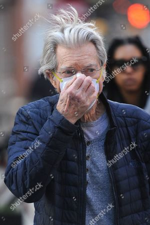 Editorial picture of Phil Lesh out and about, New York, USA - 11 Mar 2020