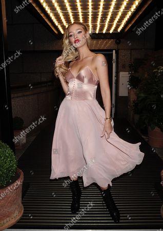 Roxy Horner at the Bloom Kensington