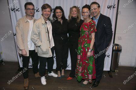 Patrick Knowles (Henry), Mike Noble (Jamie), Isabella Laughland (Rose), Rachel O'Riordan (Director), Rachael Stirling (Sandra) and Nicholas Burns (Kenneth)