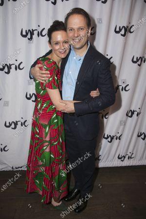 Rachael Stirling (Sandra) and Nicholas Burns (Kenneth)