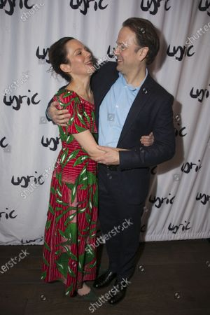 Stock Picture of Rachael Stirling (Sandra) and Nicholas Burns (Kenneth)