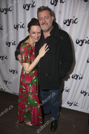 Rachael Stirling (Sandra) and Guy Garvey