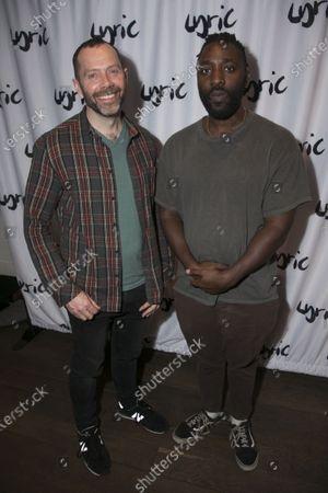Matt Jones and Kele Okereke