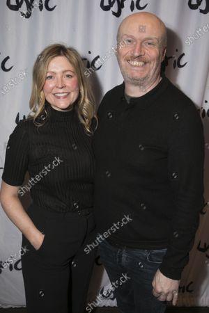 Stock Photo of Rachel O'Riordan (Director) and Mark Ravenhill