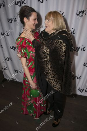 Rachael Stirling (Sandra) and Diana Rigg