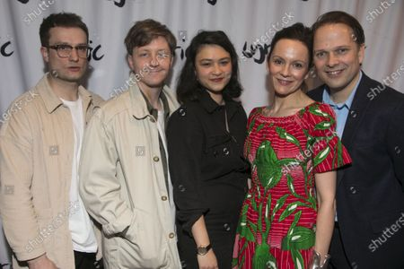 Stock Photo of Patrick Knowles (Henry), Mike Noble (Jamie), Isabella Laughland (Rose), Rachael Stirling (Sandra) and Nicholas Burns (Kenneth)