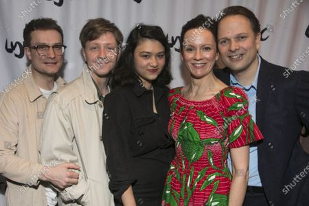 Patrick Knowles (Henry), Mike Noble (Jamie), Isabella Laughland (Rose), Rachael Stirling (Sandra) and Nicholas Burns (Kenneth)