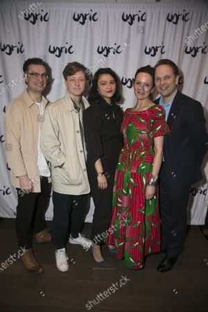 Stock Picture of Patrick Knowles (Henry), Mike Noble (Jamie), Isabella Laughland (Rose), Rachael Stirling (Sandra) and Nicholas Burns (Kenneth)