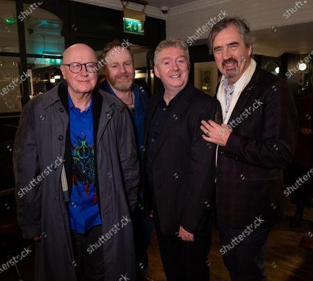 Niall Buggy, Jim Culleton, David Ganley and Sebastian Barry