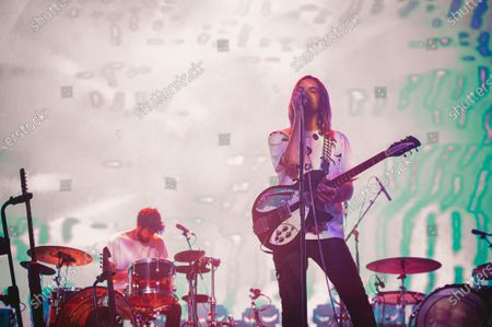 Editorial photo of Tame Impala in concert at The Forum, Los Angeles, USA - 10 Mar 2020