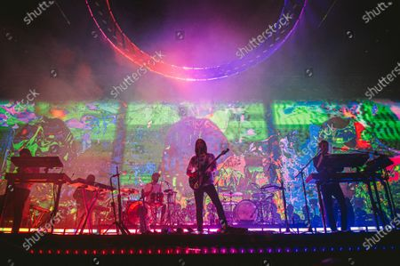 Editorial image of Tame Impala in concert at The Forum, Los Angeles, USA - 10 Mar 2020