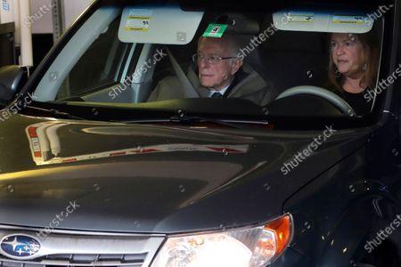 Editorial image of Election 2020 Bernie Sanders, Burlington, United States - 11 Mar 2020