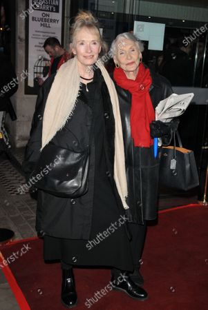 Stock Picture of Lindsay Duncan and Dame Sian Phillips