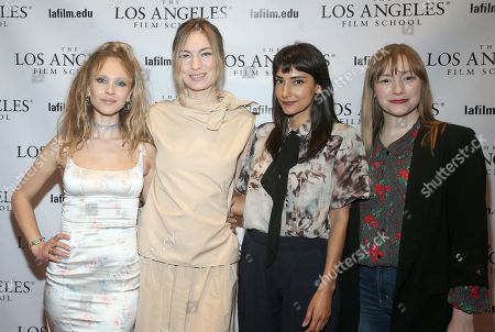 Juno Temple, Katharine O'Brien, Rebecca Hazlewood and Tory Lenosky