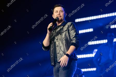Editorial photo of Scotty McCreery in concert, Nashville, Tennessee, USA - 11 Mar 2020