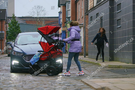 Ep 10036 & Ep 10037 Friday 20th March 2020 At baby yoga Vanessa apologises to Gemma Winter, as played by DOLLY-ROSE CAMPBELL, for the 'misunderstanding' over the party and invites her to join she and Imogen for lunch. Gemma's pleased but as they ply her with prosecco then she hears them bitching about her an upset Gemma grabs the buggy and heads out. In her emotional state, Gemma fails to spot an oncoming car which screeches to a halt, narrowly missing the buggy. A police officer realises Gemma's been drinking.