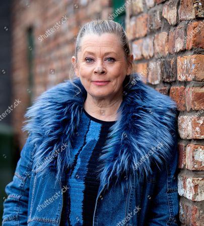 Jane Hazlegrove plays Bernie Winter