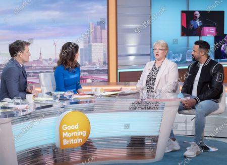 Editorial photo of 'Good Morning Britain' TV show, London, UK - 12 Mar 2020
