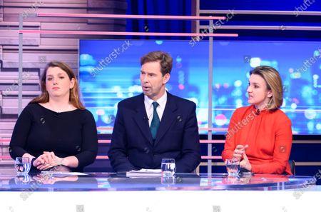 Alison McGovern, Tobias Ellwood and Poppy Trowbridge