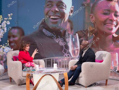 Editorial image of 'Lorraine' TV show, London, UK - 12 Mar 2020