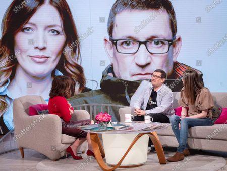 Lorraine Kelly, Paul Heaton and Jacqui Abbott