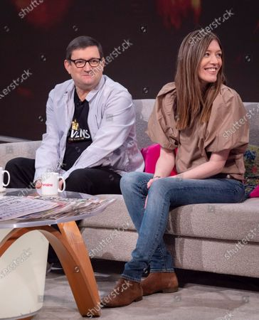 Stock Picture of Paul Heaton and Jacqui Abbott