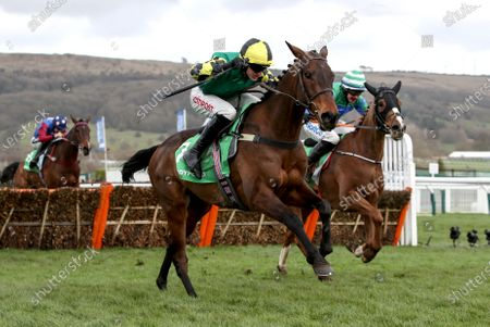 Ryanair Chase. Paul Townend onboard Min comes home to win ahead of Bryan Cooper onboard Ronald Pump