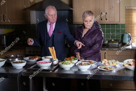 Ep 8764 Monday 23th March 2020 Pollard, as played by Chris Chittell, impresses Brenda Hope, as played by Lesley Dunlop, with his healthy snacks and proposes she try them out. Jacob starts to suspect that Pollard might like Brenda a little more than he's making out.