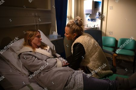 Ep 8760 Wednesday 18th March 2020 Tracy Metcalfe's, as played by Amy Walsh, taken aback when Vanessa Woodfield, as played by Michelle Hardwick, tells her she's prepared a last will and testament. As Vanessa heads into her operation will Tracy blurt the will secret?